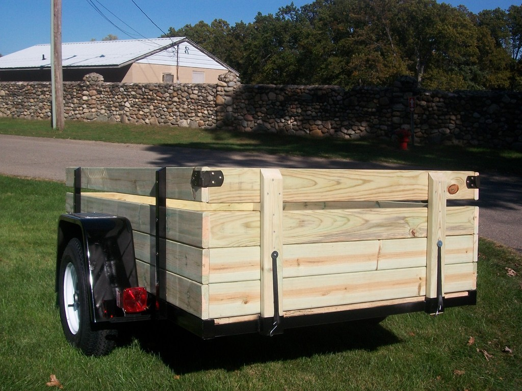 Wood Flatbed Trailer ~ Our selection of utility trailers for any hauling needs